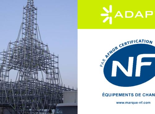 Sistema Multidireccional ADAPT® certificado por la Norma NF